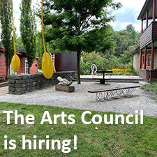 The Arts Council is hiring_