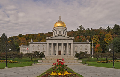 Photo of the Vermont statehouse in Montpelier. Credit: Harshil Shah, 2016.