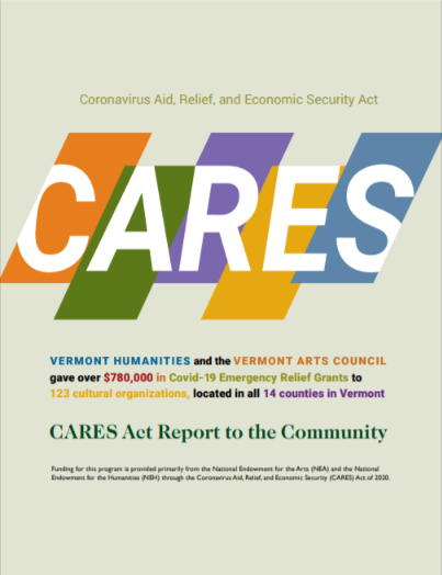 The CARES Act Report Cover Art