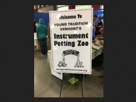 Welcome to Young Tradition Vermont_s Instrument Petting Zoo