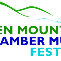 The Green Mountain Chamber Music Festival logo with left and right edges cropped off
