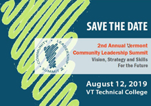 Save the Date_ Second Annual Vemront Community Leadership Summit.