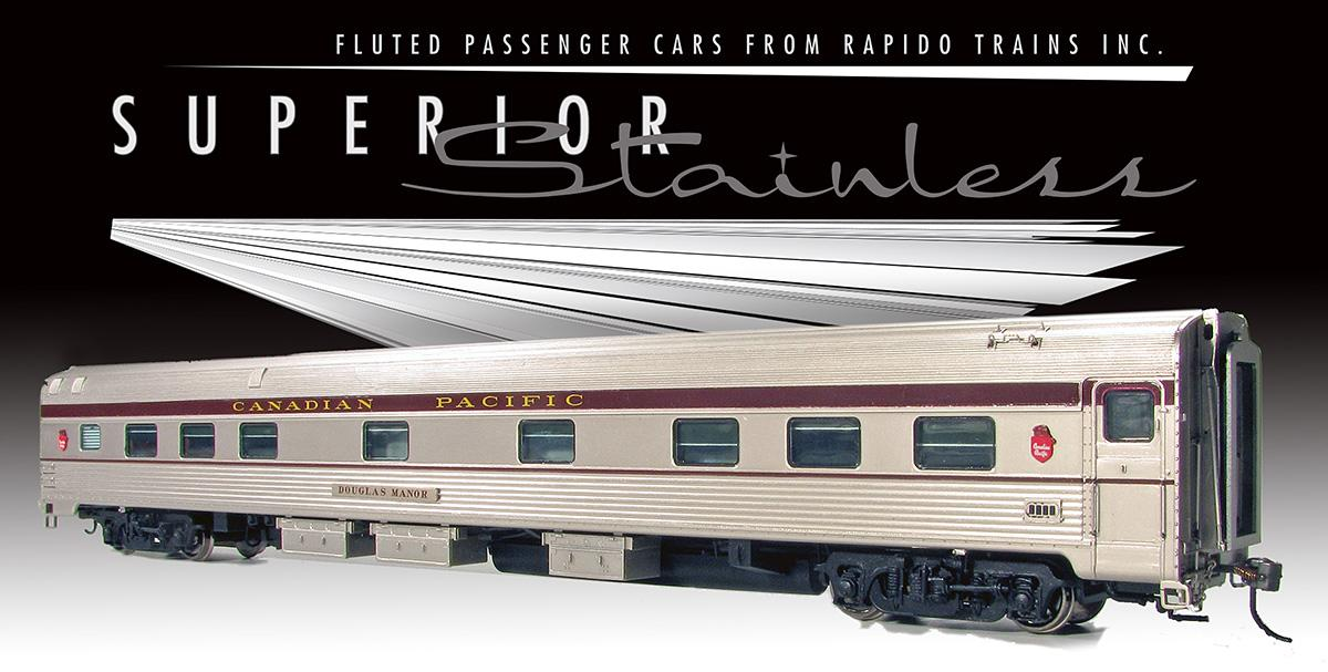 Rapido HO Budd Manor sleeper