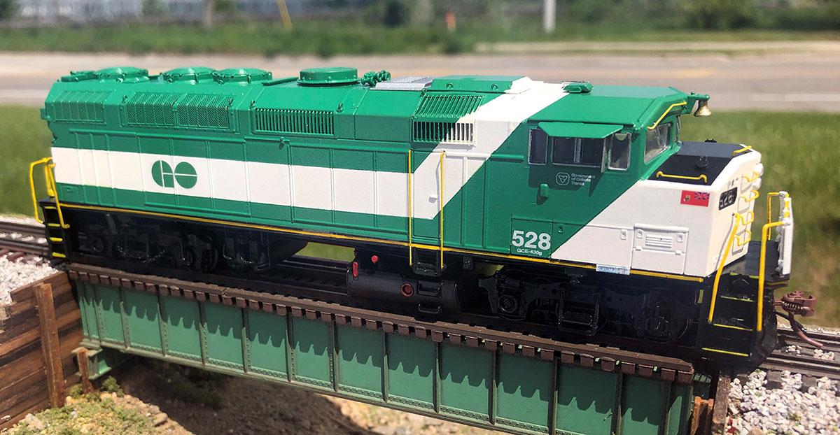 Model GO Train