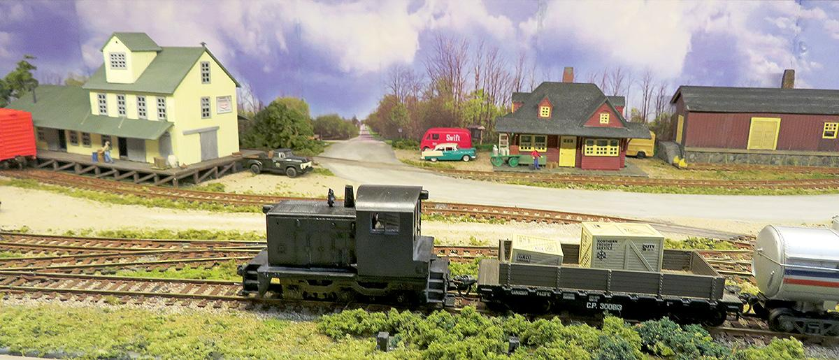 Tinker Hollow HO mini layout