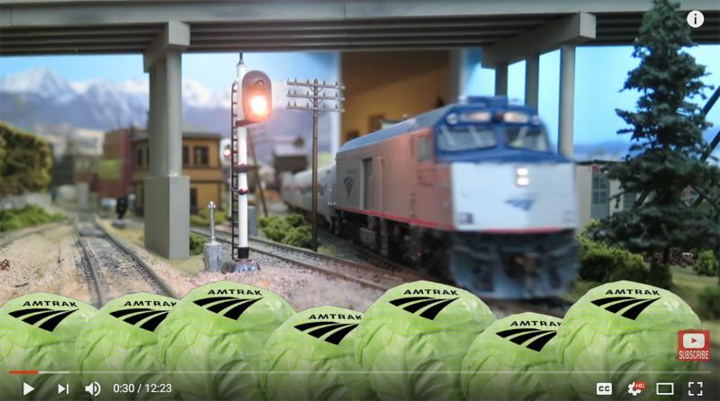 Amtrak NPCU Video