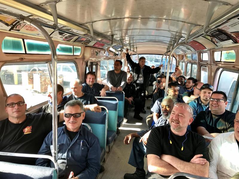 Riding the Rapido Bus