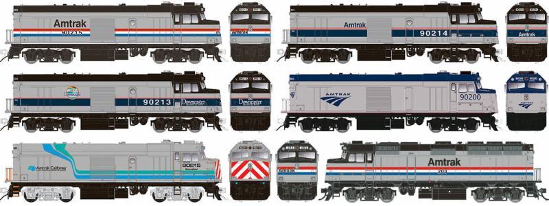 Amtrak NPCU F40
