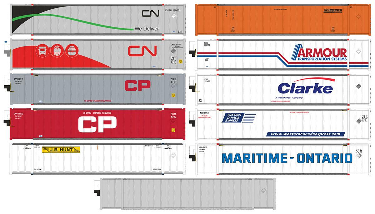 Rapido HO scale containers - second run