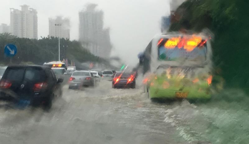 China rain storm