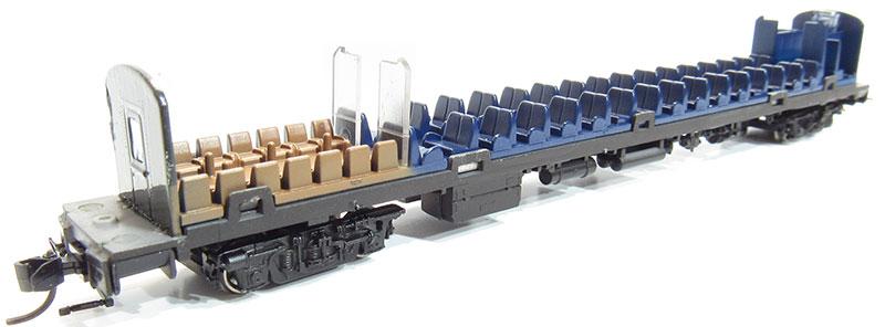 N scale coach interior