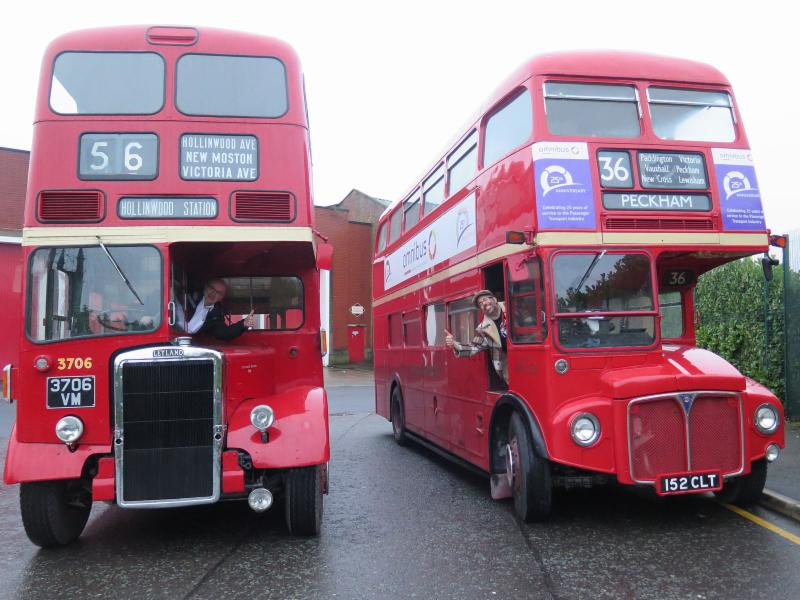 Jason Routemaster Bus Foamer