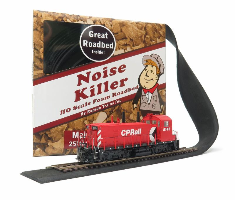 HO scale roadbed