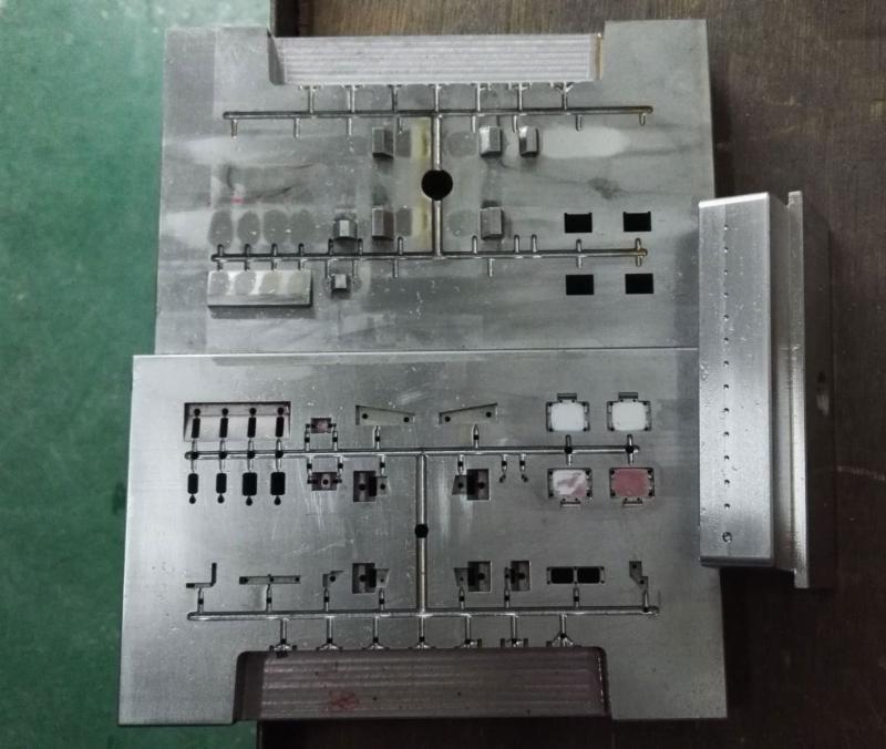 HO scale locomotive tooling