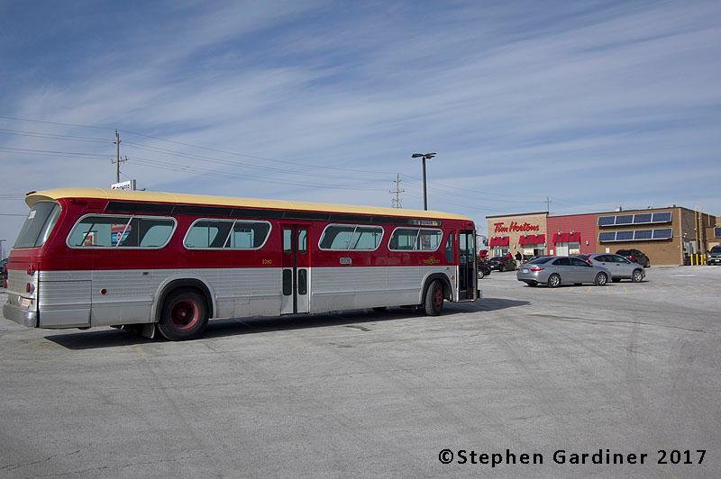Tim Hortons bus