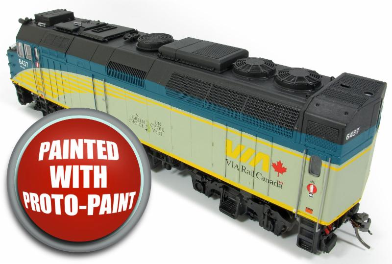 Rapido F40 Paint