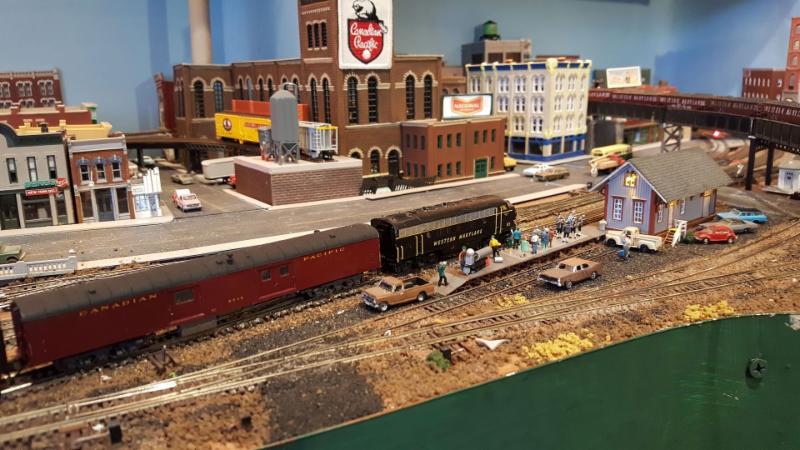 Mike McGrattan Memorial Train Lee Weldon