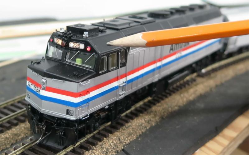 Amtrak F40 HO