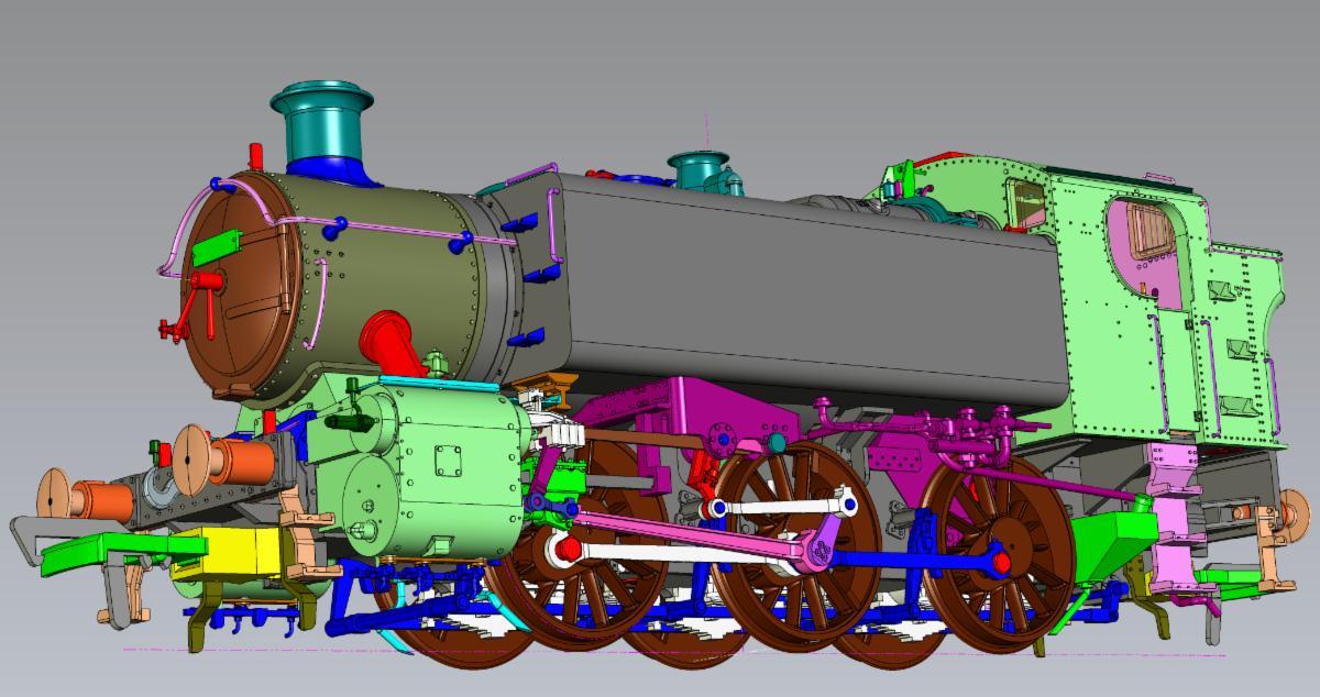 CAD render of '15XX'