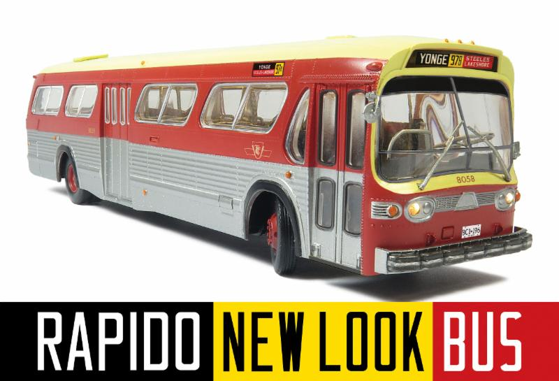 Rapido Fishbowl Bus