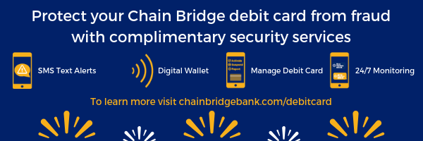 tools to protect your chain bridge bank debit card