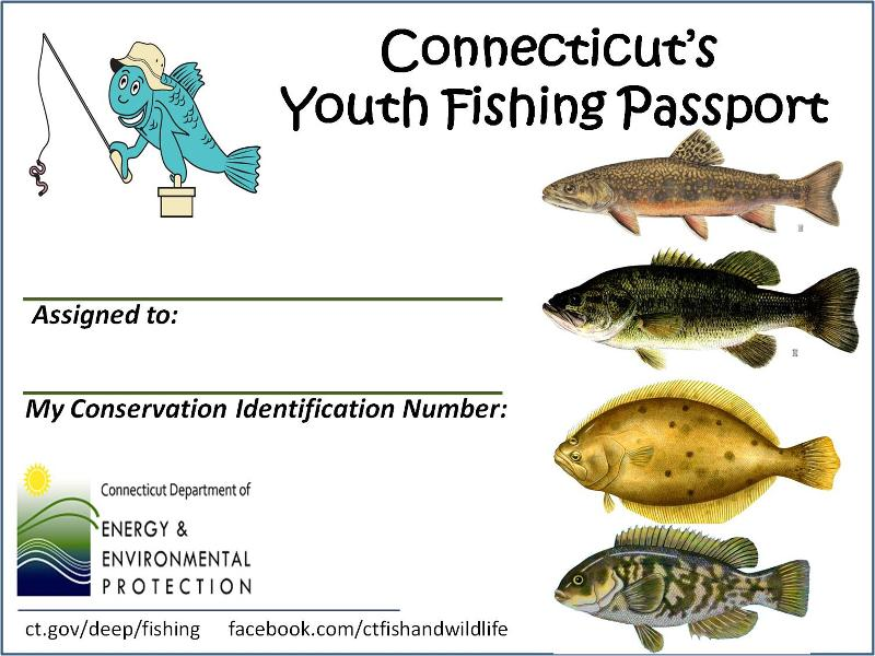 Youth Fishing Passport