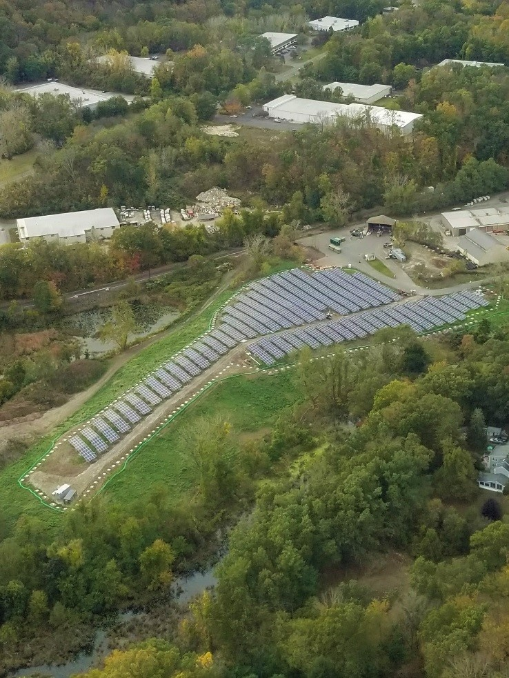 Solar Landfill in Bethel CT