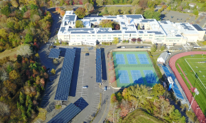 Ludlowe High School -Fairfield solar installation