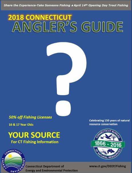 your ct fishin' tips is here!