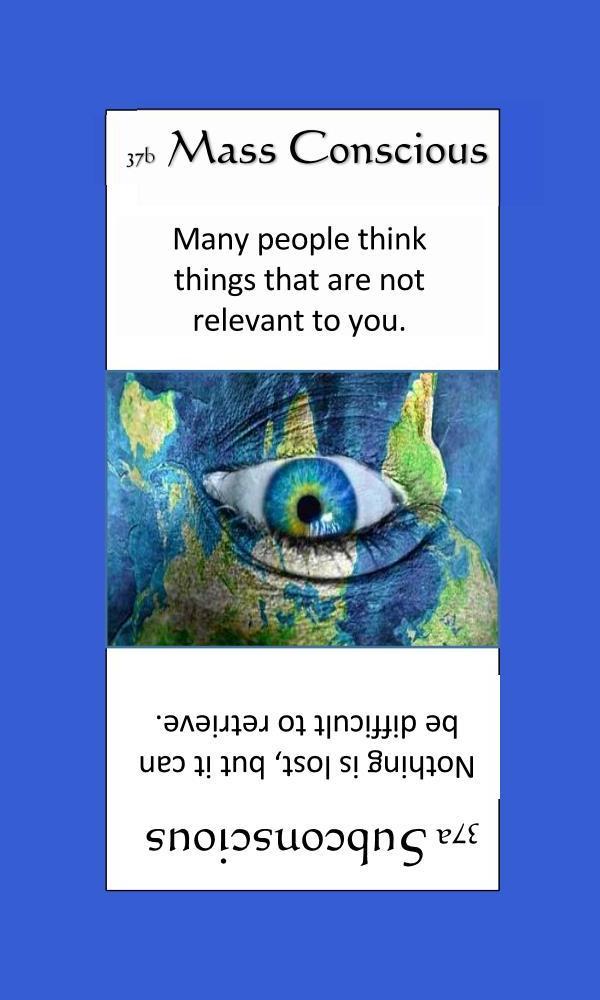 Mass Consciousness
