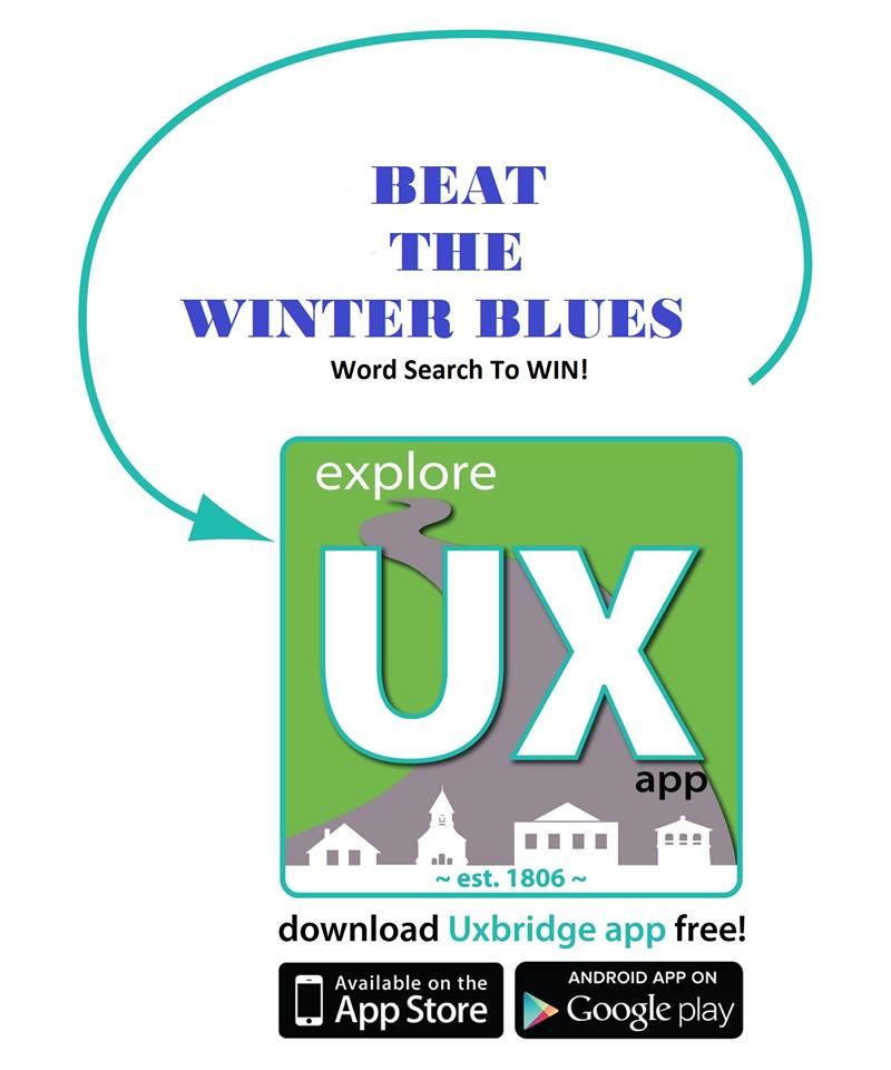 Word Search Contest at Uxbridge App