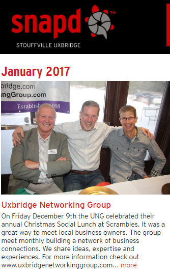snapd photo at Uxbridge Networking Group 2016 Christmas Lunch