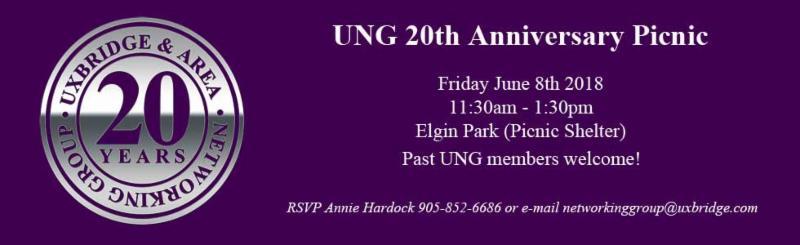 UNG 20th Anniversary Picnic