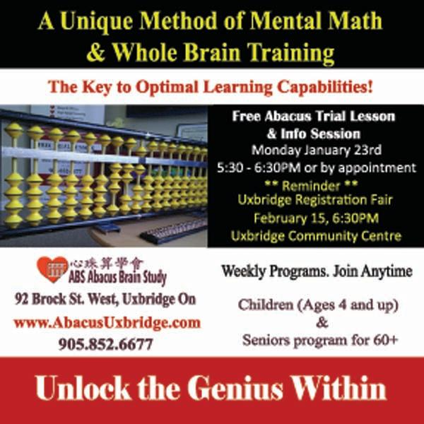 ABS Abacus Brain Study Free Abacus Trial Lesson