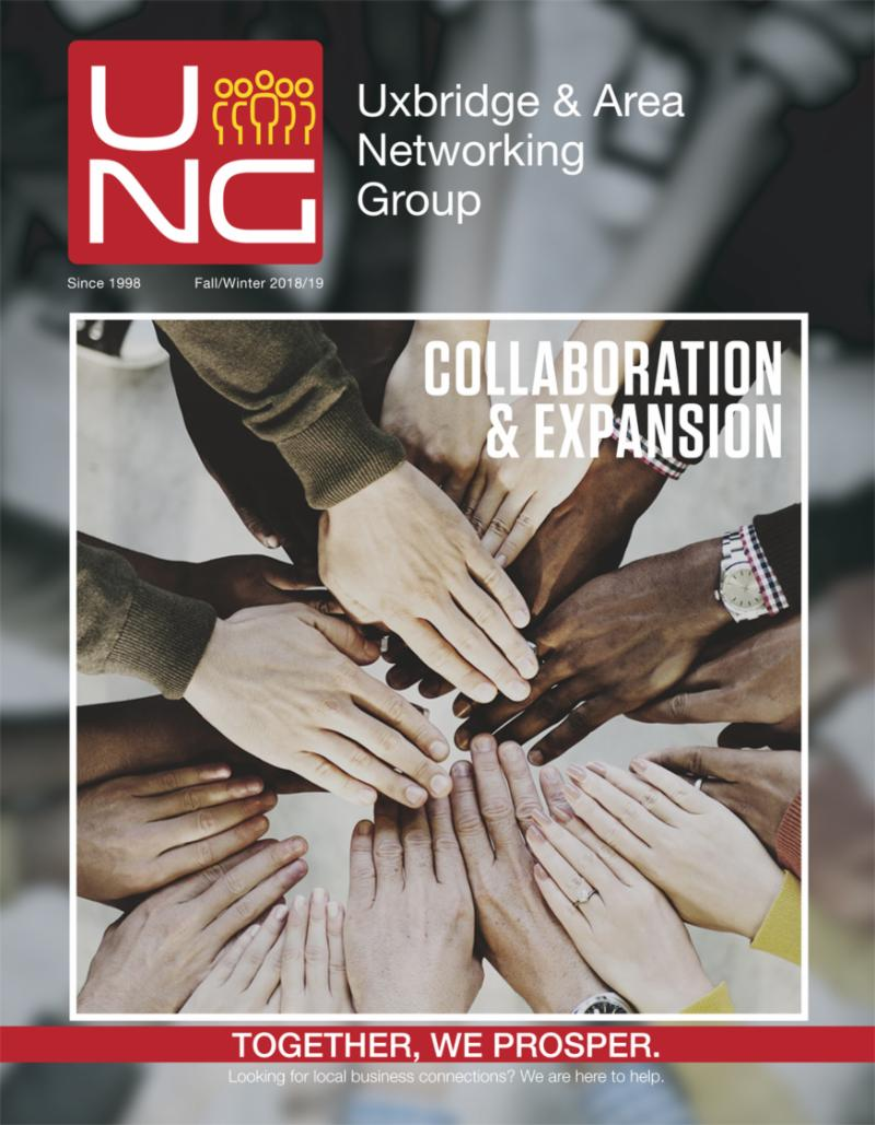 Uxbridge Networking Magazine Cover
