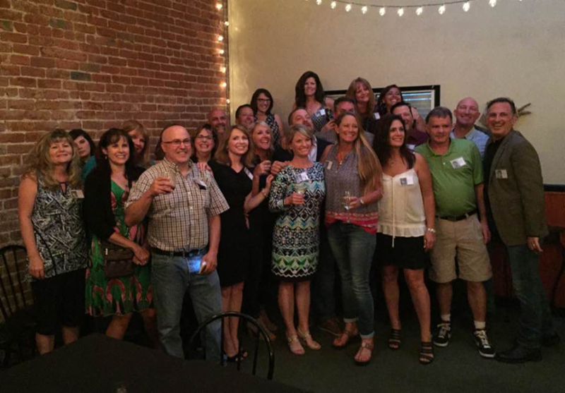 Class of 1986 celebrating their 30 year reunion!  They had a great turnout and fun reconnecting with old friends!