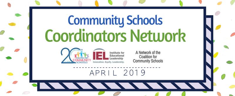 coordinators network april 2019