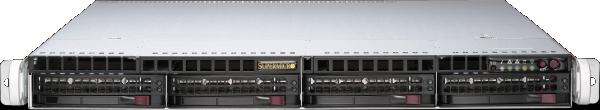 PCIe 4.0 1U EOS Server (EOS-1U)