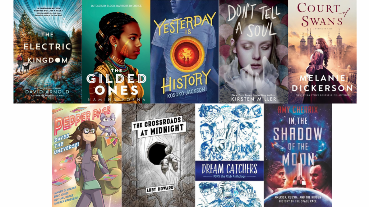 New Teen Books for March