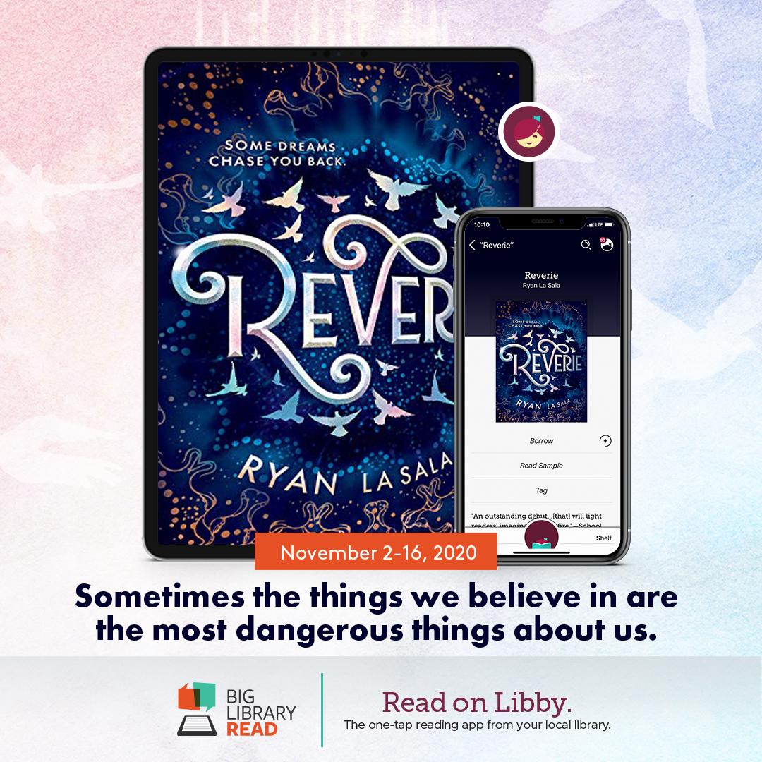 Reverie by Ryan La Salva Big Library Read