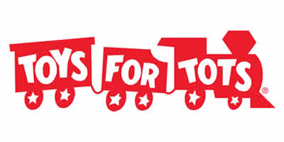 Toys for Tots Red Train official logo