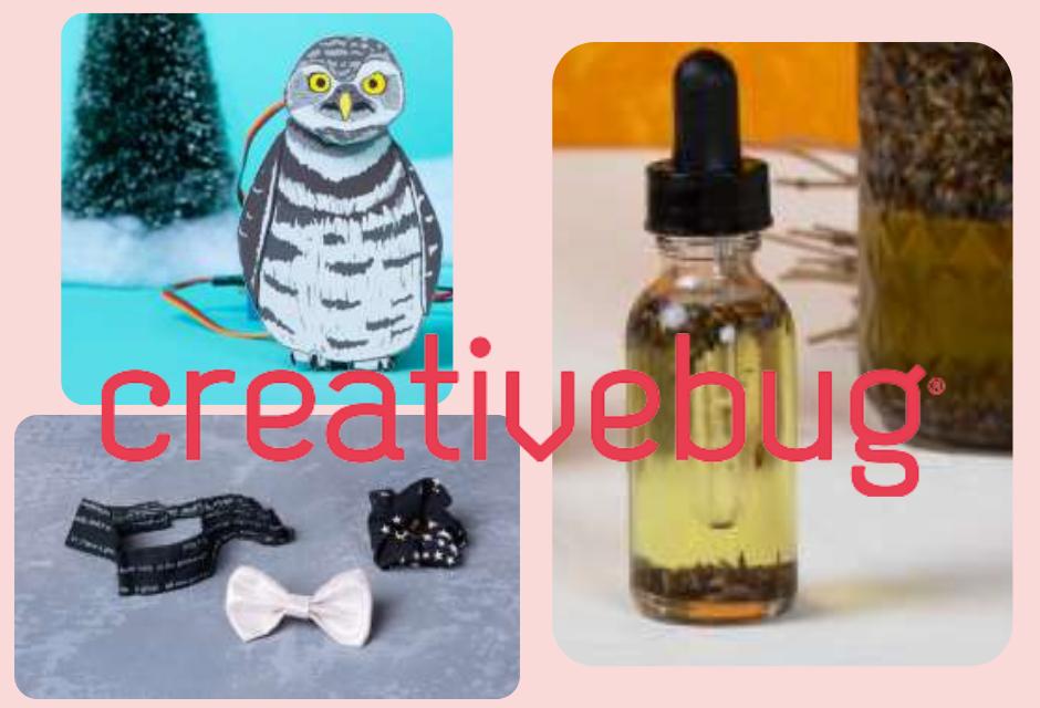 creativebug new craft projects teens