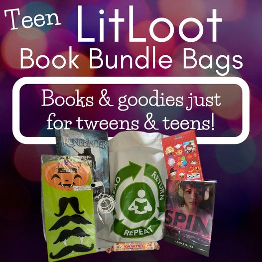 LitLoot Book Bundle Bag