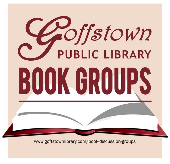 Library has two monthly Book Groups - a.m. and p.m.