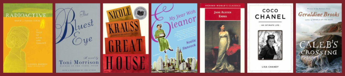 Women's History Month Book Covers