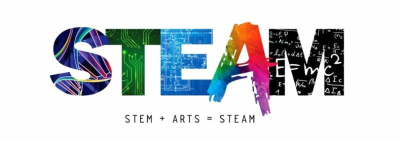 STEAM_Logo use with - Nathalie Gonzalez Graphic Designer of the STEAM logo - All rights reserved
