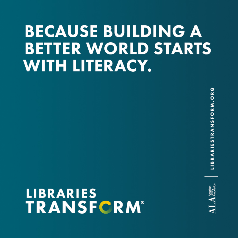 Because Building a Better World Starts with Literacy