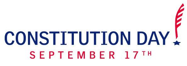 Constitution Day with red feather