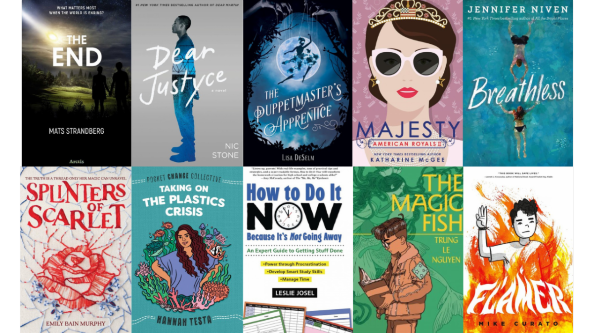 New Teen Books for November