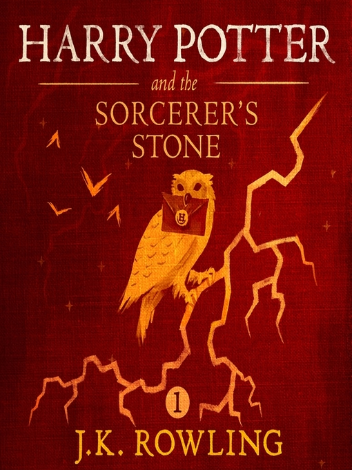 Cover of Harry Potter and the Sorcerer's Stone by J.K. Rowling